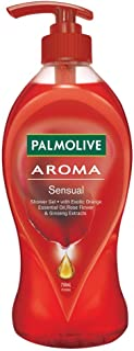 Palmolive Body Wash Aroma Sensual, 750ml Pump, Shower Gel
