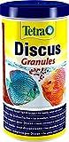 Tetra Discus Granules - Fischfutter für alle Diskusfische, fördert...