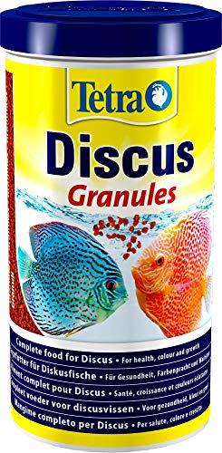 Tetra Discus Granules - Fischfutter für alle Diskusfische, fördert Gesundheit, Farbenpracht und Wachstum (Granules, Colour Granules, Energy Granules), versch. Größen und Varianten
