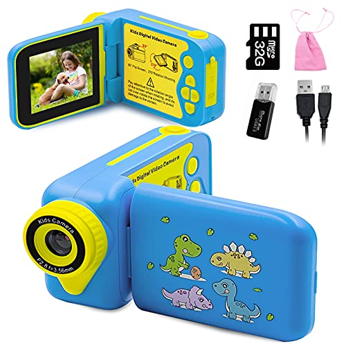 WJLING Kids Camera, Kids Video Camera for Boys and...