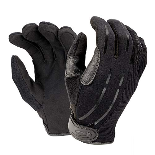 Hatch PPG2 Cut-Resistant Tactical Police Duty Glove with ArmorTip fingertips - Black, Medium