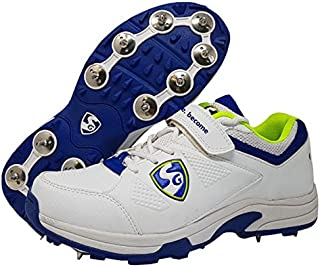 SG Seamer Cricket Shoes with Full Metal Spikes