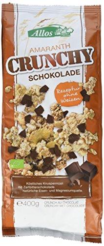 Allos Amaranth Crunchy Schokolade (1 x 400 g)