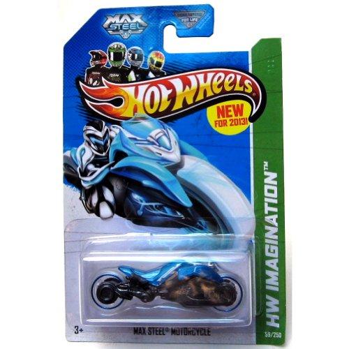 2013 Hot Wheels Hw Imagination - Max Steel Motorcycle
