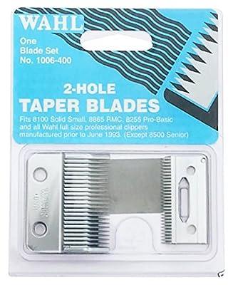 Wahl Super Taper 2 Hole Replacement Taper Blade (Top & Bottom SET) BRAND NEW ORIGINAL 1006-400