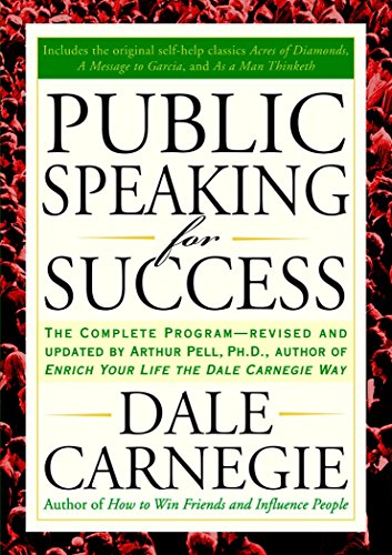 Compare Textbook Prices for Public Speaking for Success: The Complete Program, Revised and Updated REV and Updated ed. Edition ISBN 9781585424924 by Carnegie, Dale