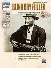 Stefan Grossman's Early Masters of American Blues Guitar: Blind Boy Fuller, Book & CD