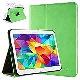 doupi Deluxe Schutzhülle für Samsung Galaxy Note Pro (12,2 Zoll), 360 Grad drehbar Tablet Etui Schutz Hülle Ständer Cover Tasche, grün