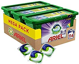Ariel 3-in-1 Pods Colour and Style, Washing Liquid Capsules, 114 Washes