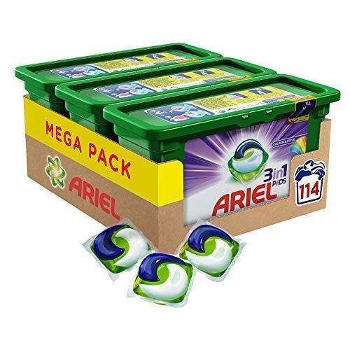 Ariel 3in1Pods Farbe und Stil Waschen Kapseln–Pack von 3(114Wäschen)