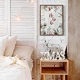 Poster Ho Ho Ho Weihnachtsposter Weihnachten Xmas