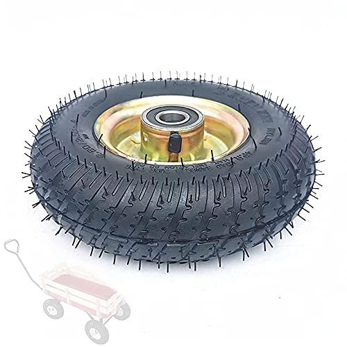 TADYL Neumáticos para Scooter eléctrico, Ruedas de Repuesto de 9 Pulgadas 2.80/2.50-4, incluidos neumáticos Resistentes al Desgaste, Ruedas de Acero al Carbono, Accesorios Opcionales del Carro