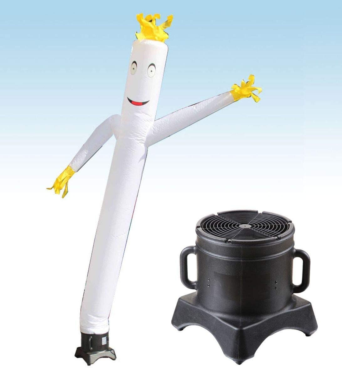 Includes 1//2HP Blower for Advertising Fun Wacky Waving Inflatable Arm Flailing Tube Man 12 x 12 Blue Dancing Fly Guy Promotion and Entertainment