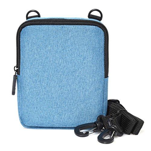 Polaroid Soft Camera Case W/Built-in Slot for Photo Paper for Polaroid POP Instant Camera - Blue