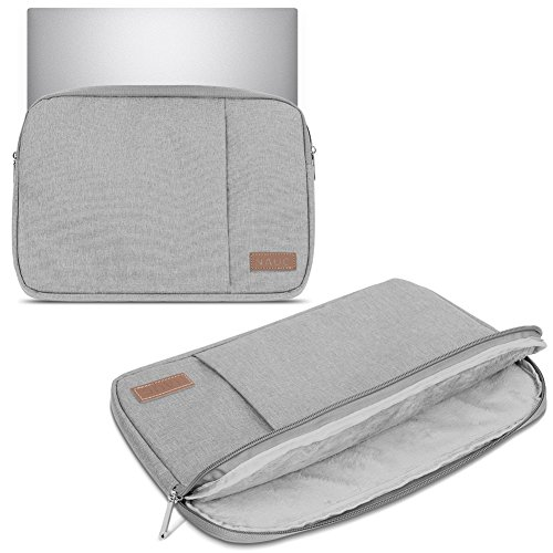 UC-Express Schutz Tasche kompatibel für Huawei MateBook X Pro 2021 Hülle Notebook Schutzhülle Schwarz/Grau/Blau Cover Hülle, Farbe:Grau