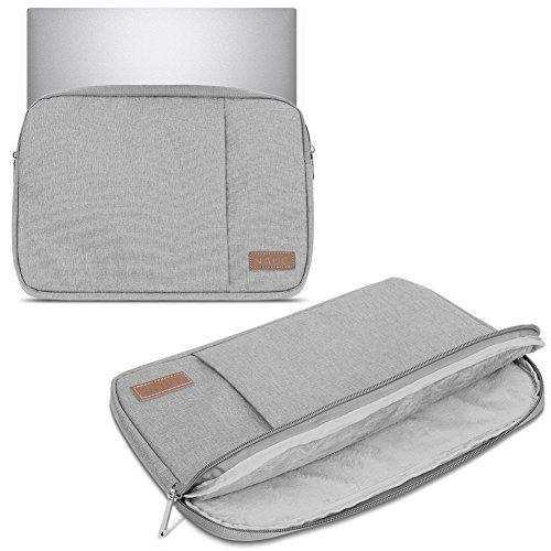 Sleeve Tasche für HP 255 G6 Hülle Grau Schutzhülle Notebook Hülle Laptop Cover Etui