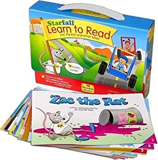 Starfall Learn to Read Phonics Set: Zac the Rat and Other Tales! by Blue Mountain Arts (April 1 2005)