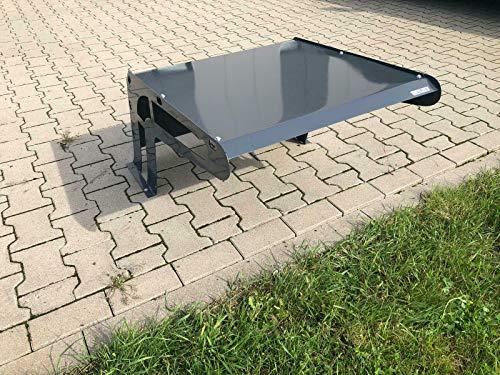 Garage Mähroboter Metall Rasenmäher Roboter Carport Dach Anthrazitgrau #36