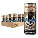 Wild Bill's Vanilla Cream Soda, Pure Cane Sugar, 12 Fl Oz Cans (Pack of 12)