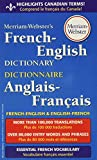 Merriam-Webster's French-English Dictionary, Newest Edition, Mass-Market Paperback (English and French...