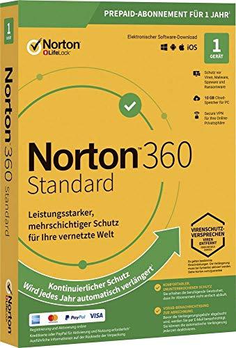 Symantec NORTON 360 STANDARD 10GB GE