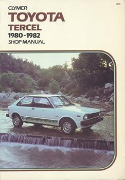 Paperback Toyota Tercel, 1980-1982: Shop manual Book