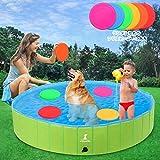 犬用プール ペットバスプール 犬 子供 猫 小型犬 中型犬 ベビー用 ペット用 (160cm)