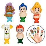 Nickelodeon Bubble Guppies Finger Puppets - Party Favors, Educational, Bath Toys