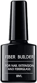 blackbirdlee Nail Polish Gel, Nail Extension Fiberglass Gel Fake Tips Builder Glass Fibers UV Varnish Lacquer, UV LED Nail Lacquer Manicure Nail Art Tool Kit