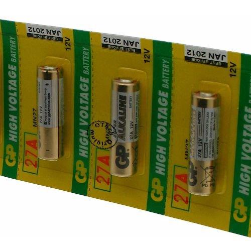 Otech Pack de 5 baterías GP para GP 27A