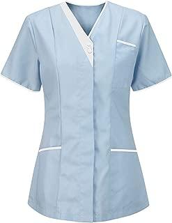 nurses scrub tops uk