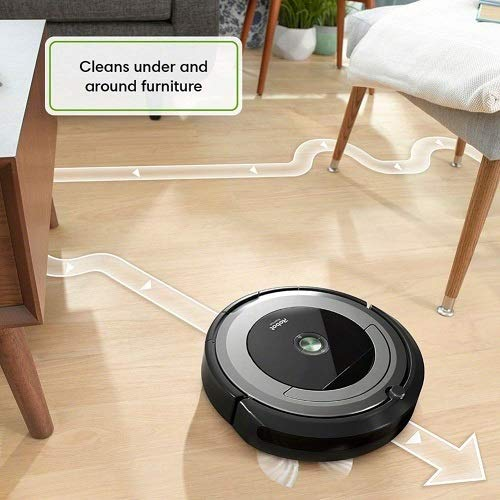 iRobotルンバ690ロボット掃除機Wi-Fi接続Alexa対応ペットの毛カーペットハードフロアセルフ充電