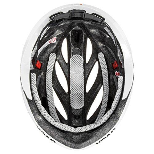 Fahrradhelm UVEX Helm Boss Race, White, 52-56 cm - 4