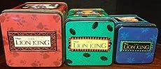 Image of 1994 Lion King 3 Box Tin. Brand catalog list of Applause.