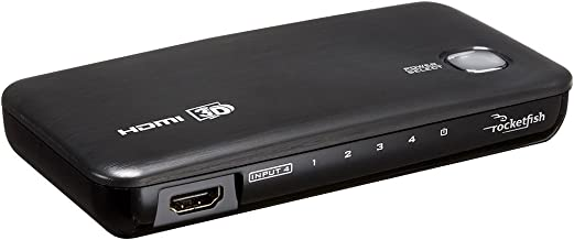 Rocketfish RF-G1185 4-Port HDMI Selector