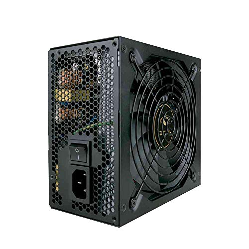 Fonte 500w C3Tech ATX Gamer PS-G500B Preto - Potência 500W Cooler 120mm Silêncioso Compatível com AMD/Intel Selo 80Plus Bronze Proteção contra Curto Circuito Bivolt Automático 115V/230V PFC Ativo
