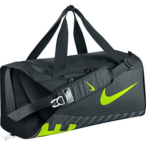 Nike – Alph Adpt CRSSBDY dffl-m Borsone, alghe/nero/volt