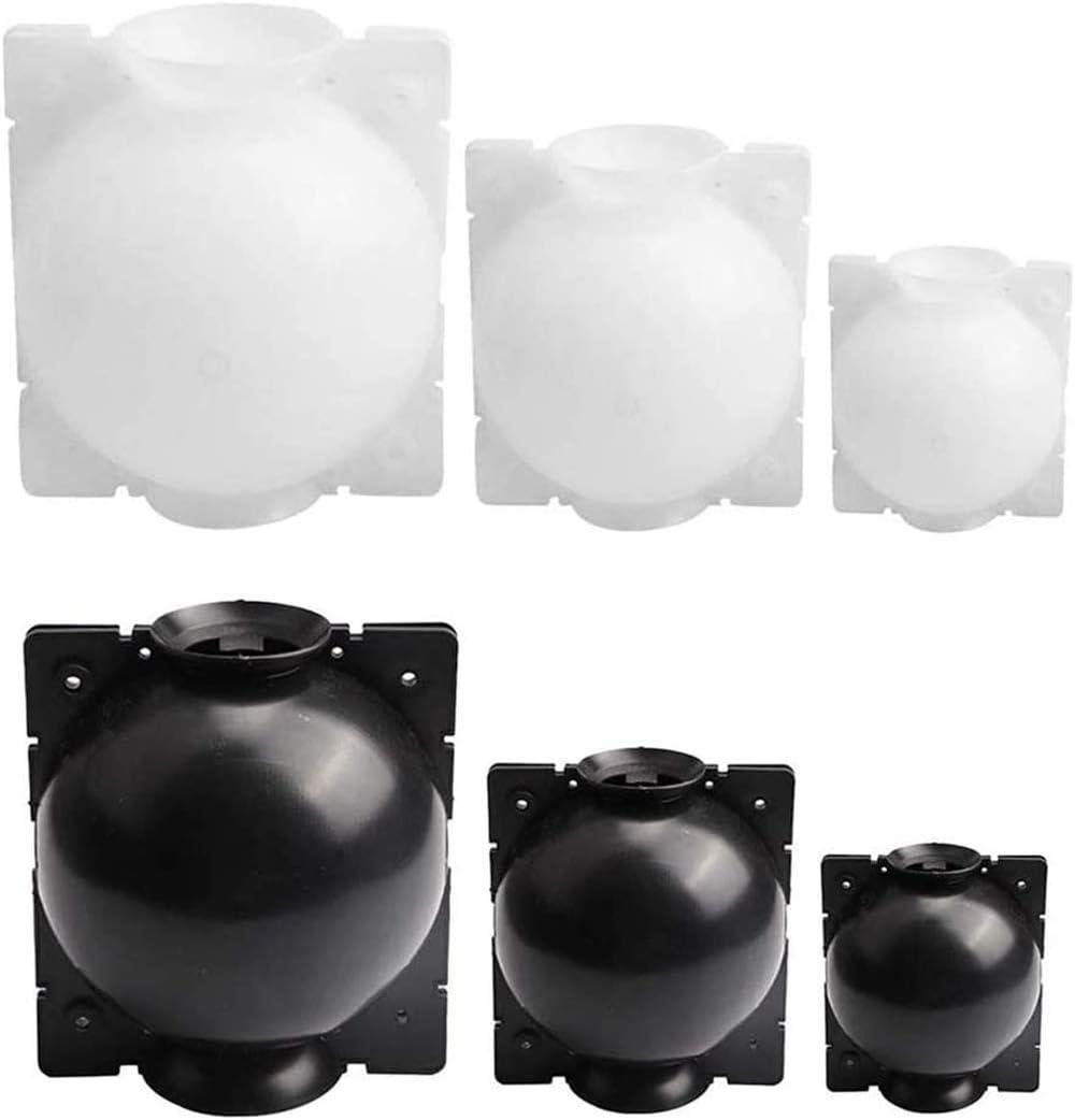 wiederverwendbarer Hochdruckball zum Veredeln Gartenpflanzen-Wurzelger/ät S 5 cm, wei/ß Wurzelbox ZESHIZE Wurzelball-unterst/ütztes Schneiden Veredelung Hochdruck-Anzuchtkugel Pflanzengew/ächshaus