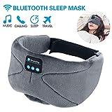 WU-MINGLU Bluetooth Eye Mask Sleep Headphones, Wireless Music Sleep Mask Noise Cancelling Sleeping