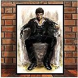 A&D AL Pacino Scarface Gangster Filmplakat Wandkunst Bild