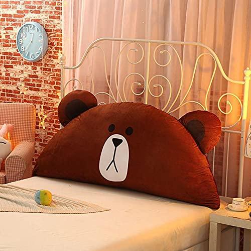 WSZMD Geeignet Für Nachttisch Sofa Lehnendes Kissen Cartoon Wind Kopf Kissen Kinder Bett Kissen Niedliche Doppelbett Tatami Weichstasche Abnehmbar,G-100x50cm