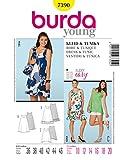 Burda Schnittmuster 7390 Kleid & Tunika Gr. 36 46