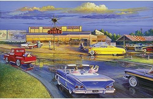 Puzzle 1000 Teile American Diner 17314 von SunsOut