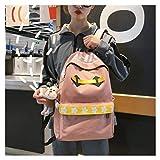 Mochila Corea Escolar Escolar Mochila Escolar para Niñas con Estilo de Campo Fresco Mochila para Niñas Colgante + 4,5 yuan. Gemein