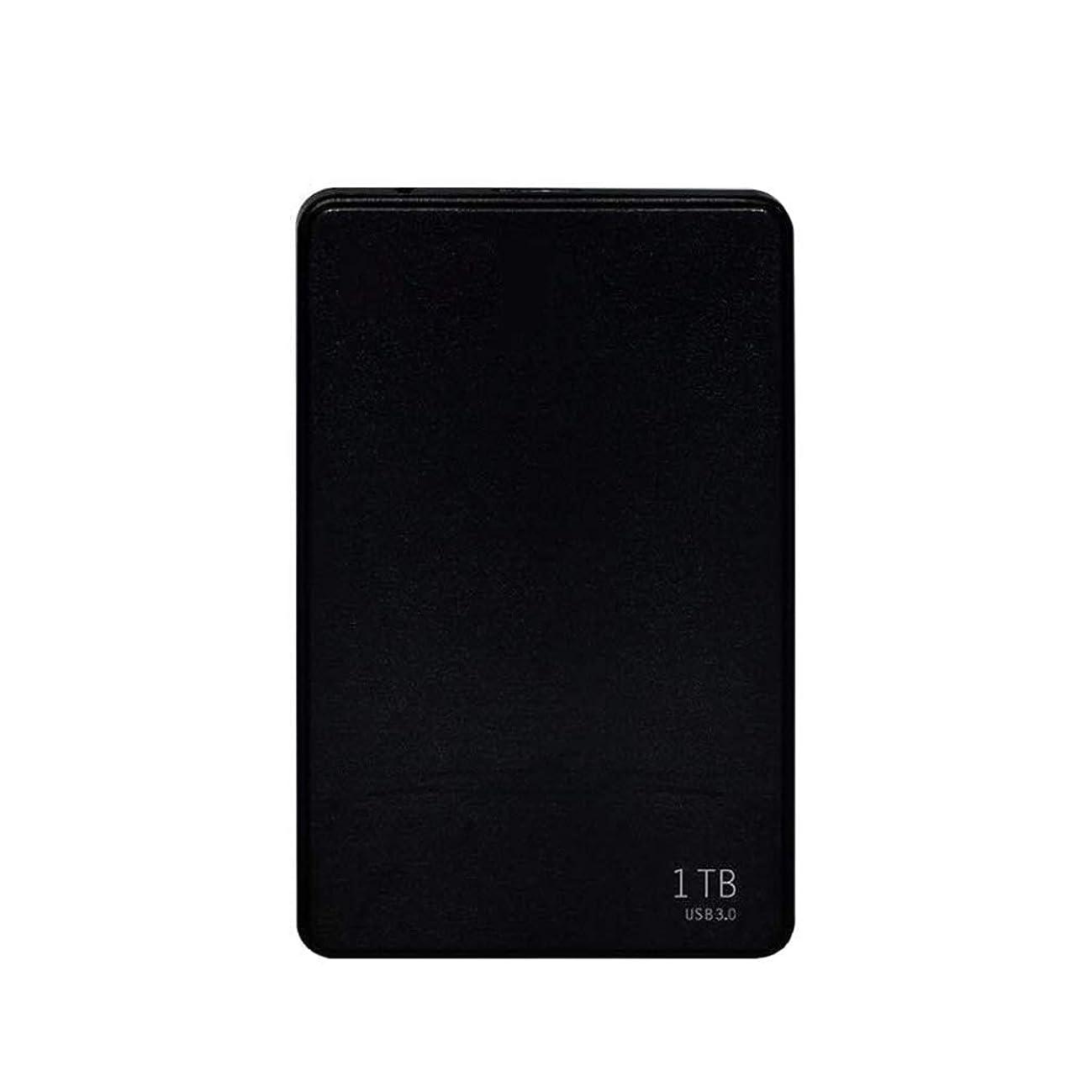 Mobile Hard Disk 80G/160/250/320/500/1TB High-Speed Transmission USB3.0 Large Memory Computer External Mobile Portable Hard Disk Black (Size : 500GB)