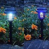 Chainscroll LED Solar Moskito-Mörder-Rasen-Lampe im Freien imprägniern Hof-Lichter Universalschutz