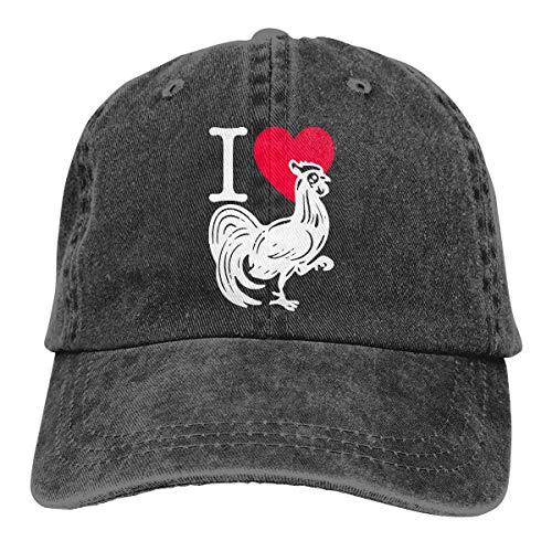 Strapback Hat I Love Heart Cock 1 Vaquero Vintage Protección Solar Gorra De Béisbol Personalizada Deportes Al Aire Libre Clásicos Compras De Hip Hop Sombreros De Camionero Gorra De