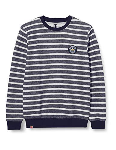 LEGO Jungen MW Ninjago Sweatshirt, 500 Light Blue, 140
