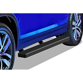 Compatible with 2009-2015 Honda Pilot Sport Utility 4-Door APS iBoard Running Boards Nerf Bars Side Steps Step Bars Black Powder Coated 4 inches