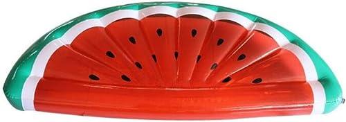 perfecto YONG Fila Flotante Inflable de la sandía del del del PVC de los Juguetes flotando la Fila La Cama Flotante Flotante 180  90  20cm del Agua Inflable  precios mas bajos